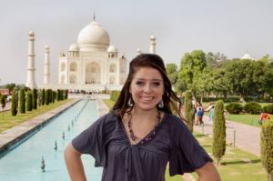 Rachael Taj Mahal